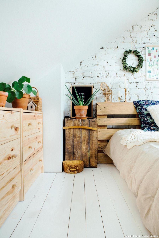 Du parquet blanc pour une d coration scandinave parquet Parquet pour chambre