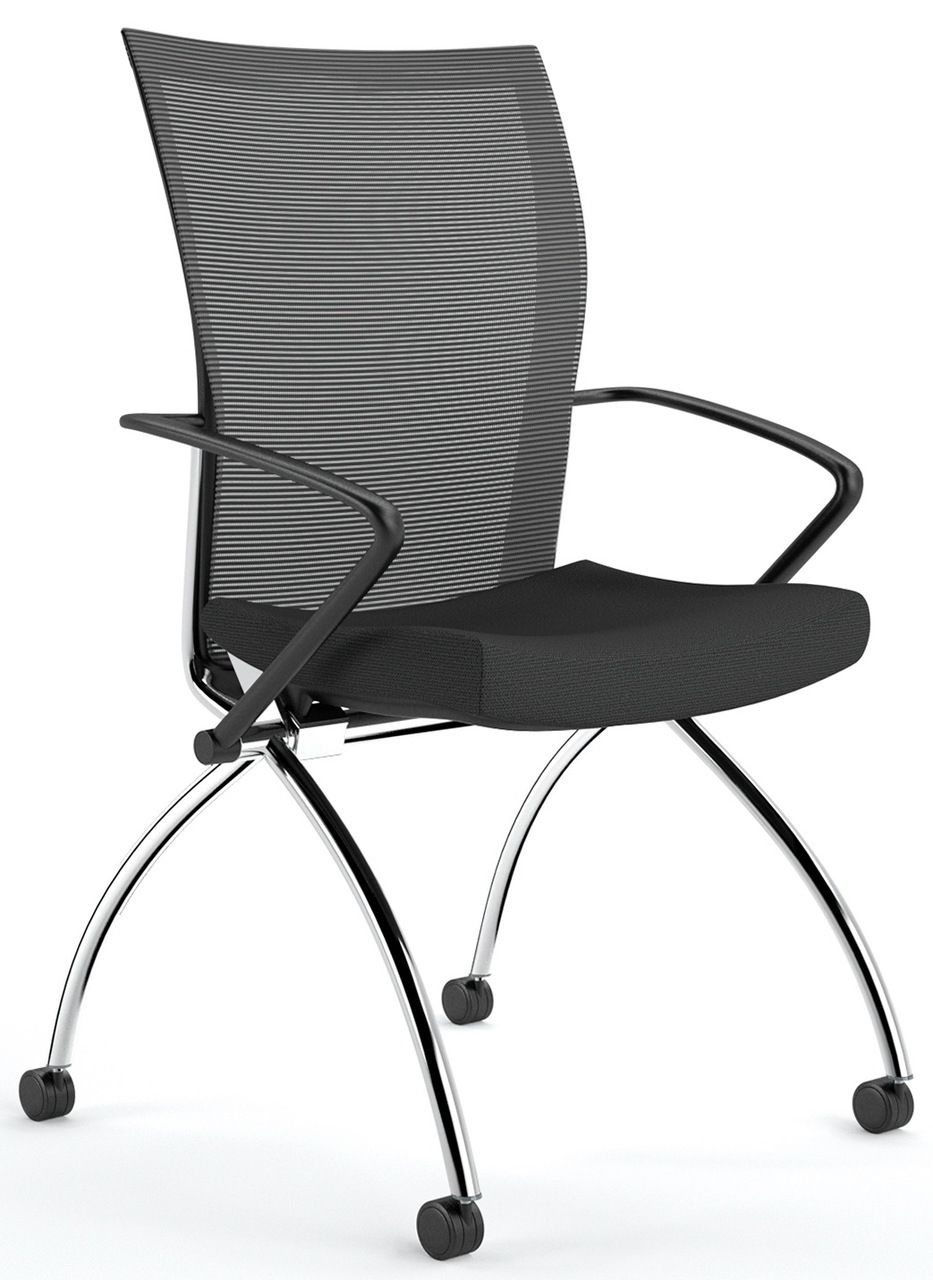 Office chair with folding backrest productcreationlabs