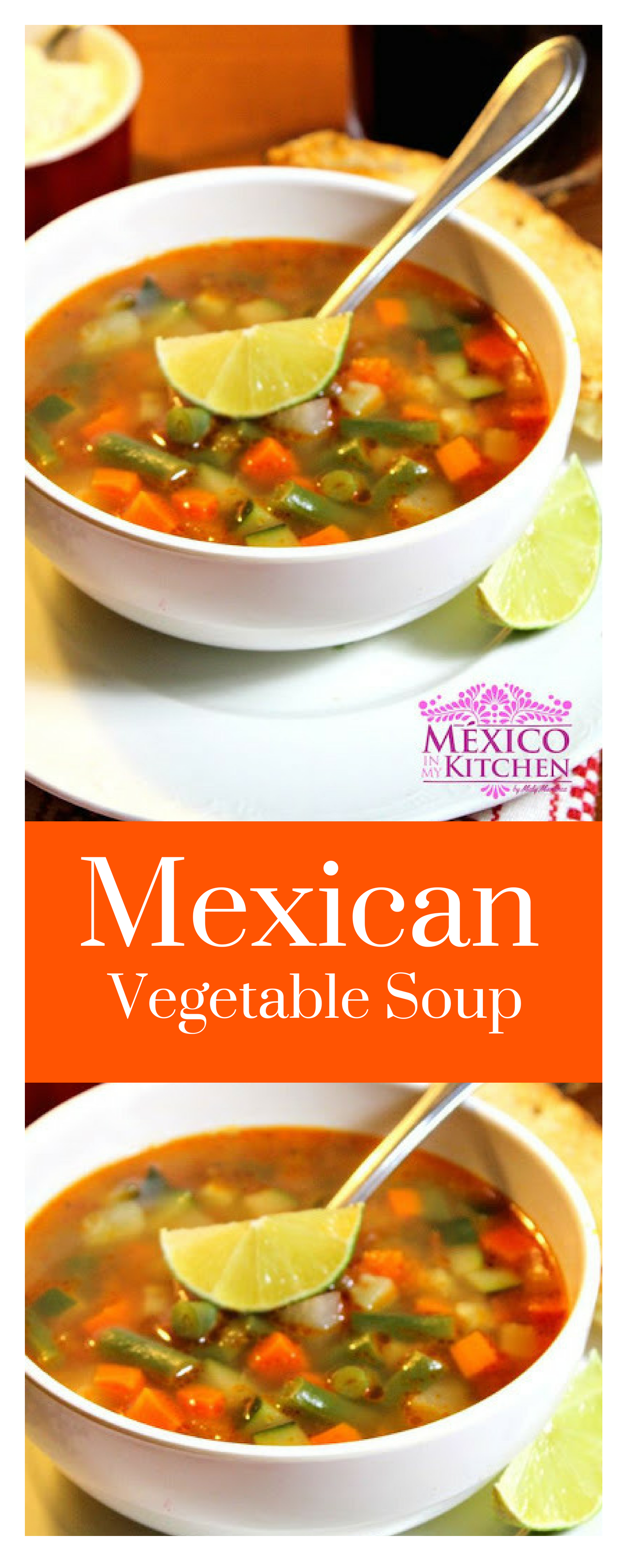 Mexican Vegetable Soup Recipe Mexican Vegetables Mexican