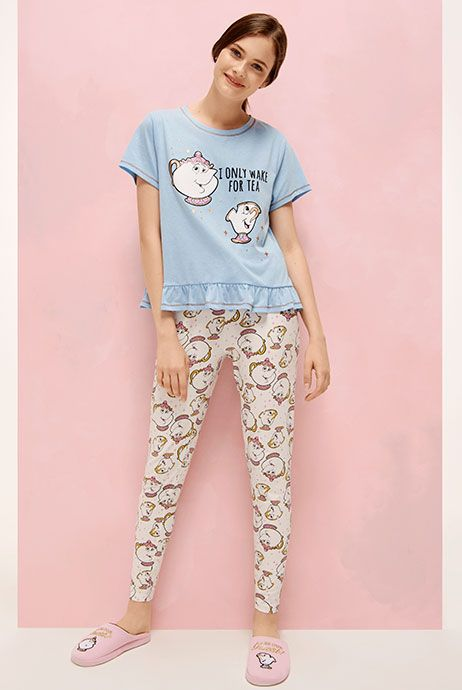 c4acbc9add18 Image result for beauty and the beast pajamas womens