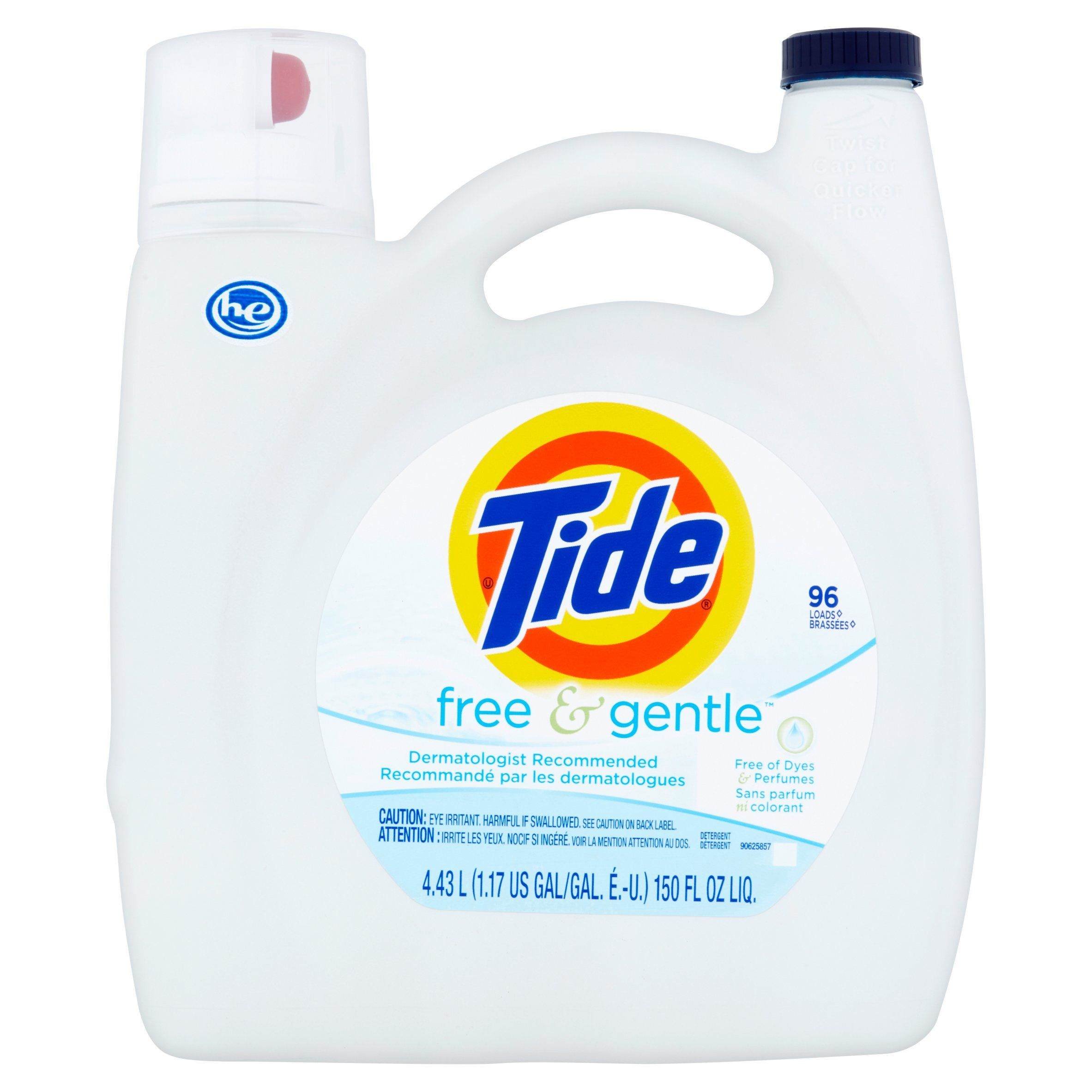 Household Essentials Tide Free Liquid Laundry Detergent Tide