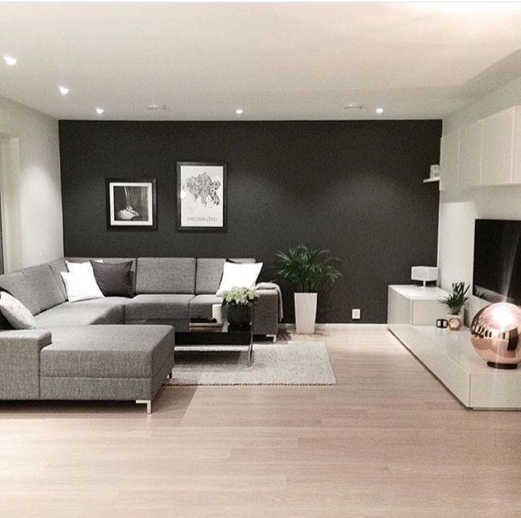 resultado de imagem para dcoration sous sol salon - Salon Design Sol Gris