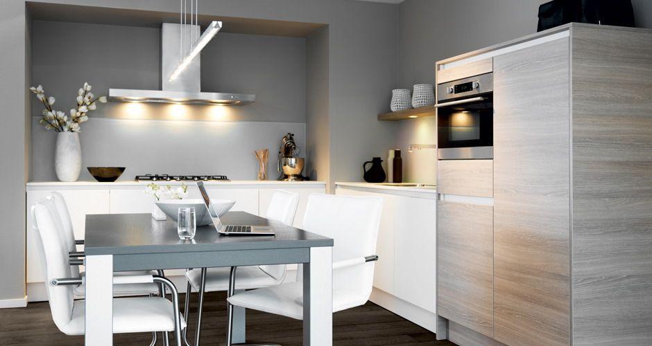 Greeploze keukens gl kleur wit i c m castle oak keller