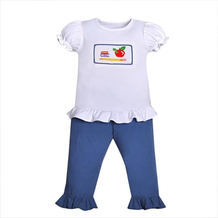 School Time Girl Pant Set