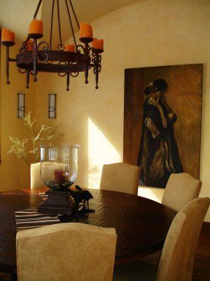 Lighting Wall Art And Paint Ideas For A Tuscan Feel For The Simple Tuscan Lighting Dining Room Decorating Inspiration