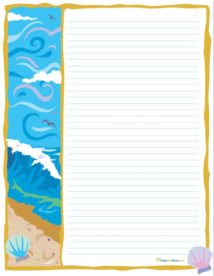 Printable stationary is *Printable Organization or everything - free lined stationery