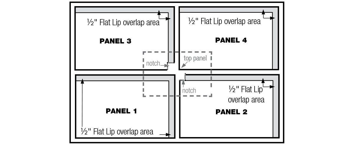 Fasade backsplash panels
