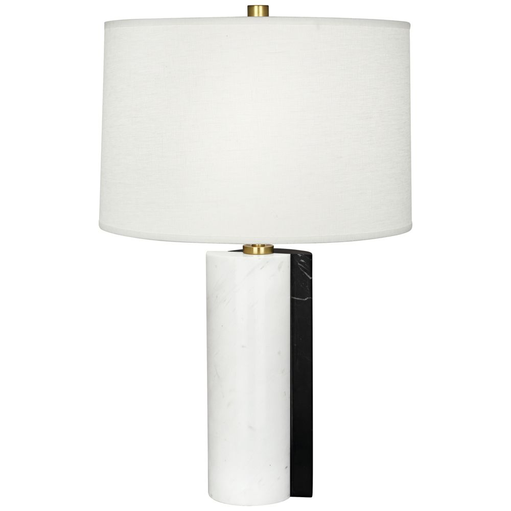 Jonathan Adler Canaan Oyster Dual Marble Table Lamp 19a68