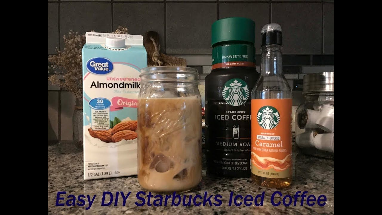 Diy at home low calorie starbucks iced coffeeless than