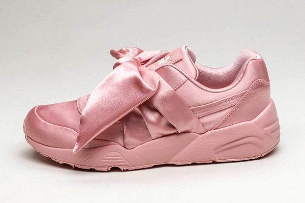 outlet store 51ffb b2435 Puma's Rihanna By Fenty Official Bow Sneaker And Slide ...