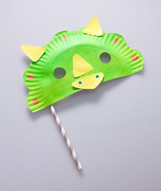 Dynamite dinosaur diy halloween masks vbs 2016 for Dinosaur crafts for preschool