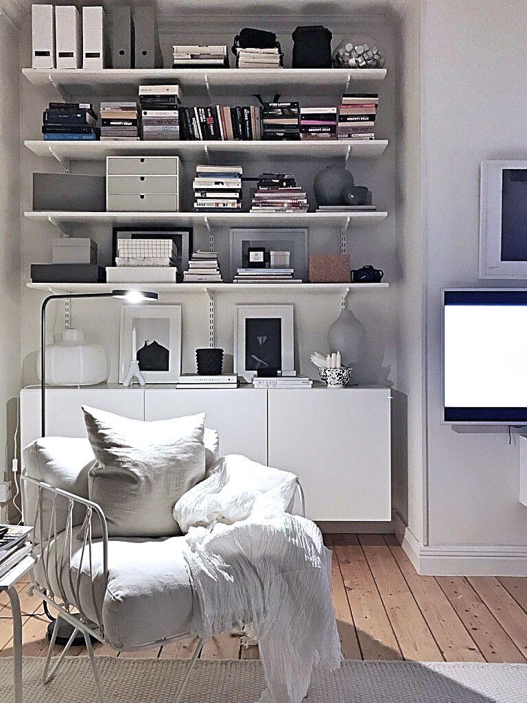 Livingroom Shelf Besta Elfa Vardagsrum Nytt Vardagsrum