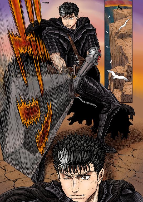 I Colored My Favorite Page Of Chapter 360 Berserk Berserk Color Me Manga