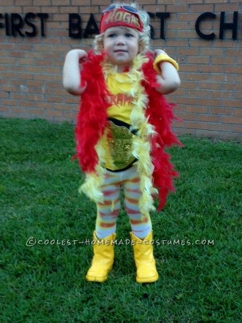 Cool Hulkamania Costume for a Toddler Hulk hogan, Costumes and - unique toddler halloween costume ideas