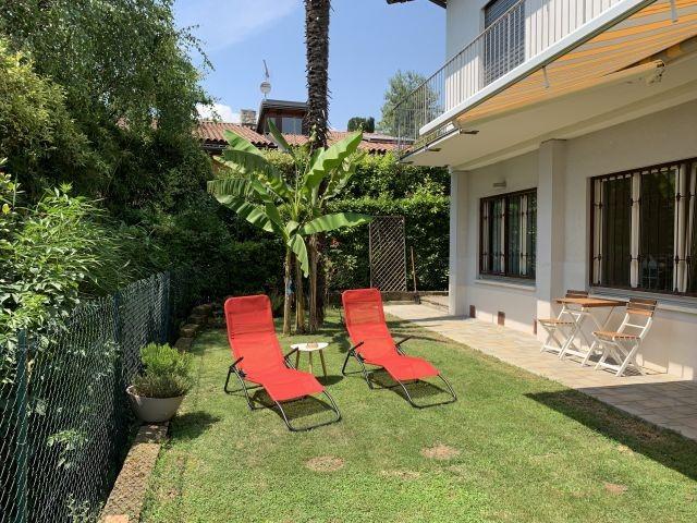Casa Grethel Mit Privatem Garten Und Parkplatz Casa Grethel In Supiane Gardone Italien Toskana Adria In 2020 Italien Urlaub Mit Hund Urlaub Am See Ferienwohnung