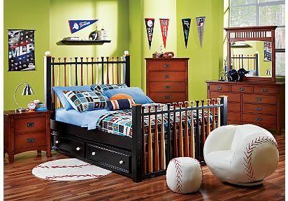 The Ultimate Bedroom Set For My Baseball Boy Baseball Bedroom Sport Bedroom Boys Bedroom Decor