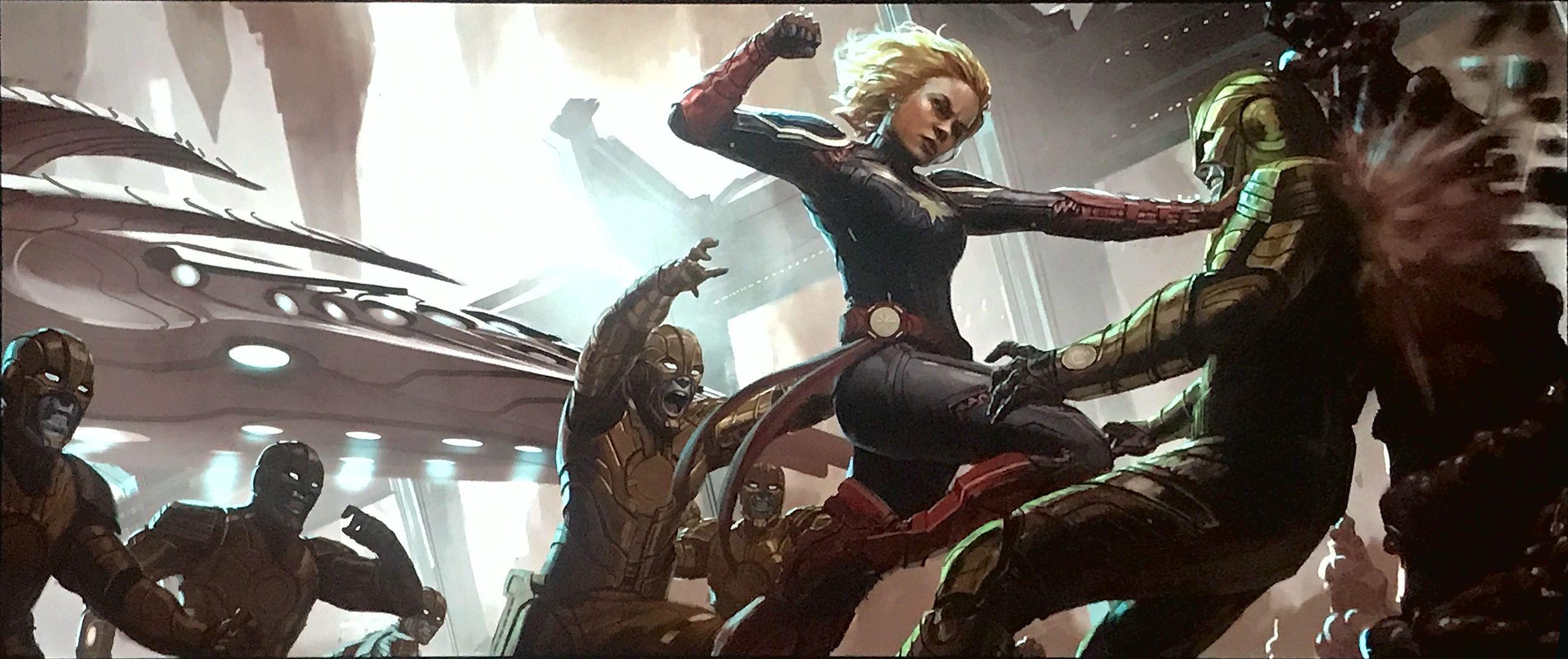 Captain Marvel Google Search Marvel Concept Art Marvel Fight Captain Marvel