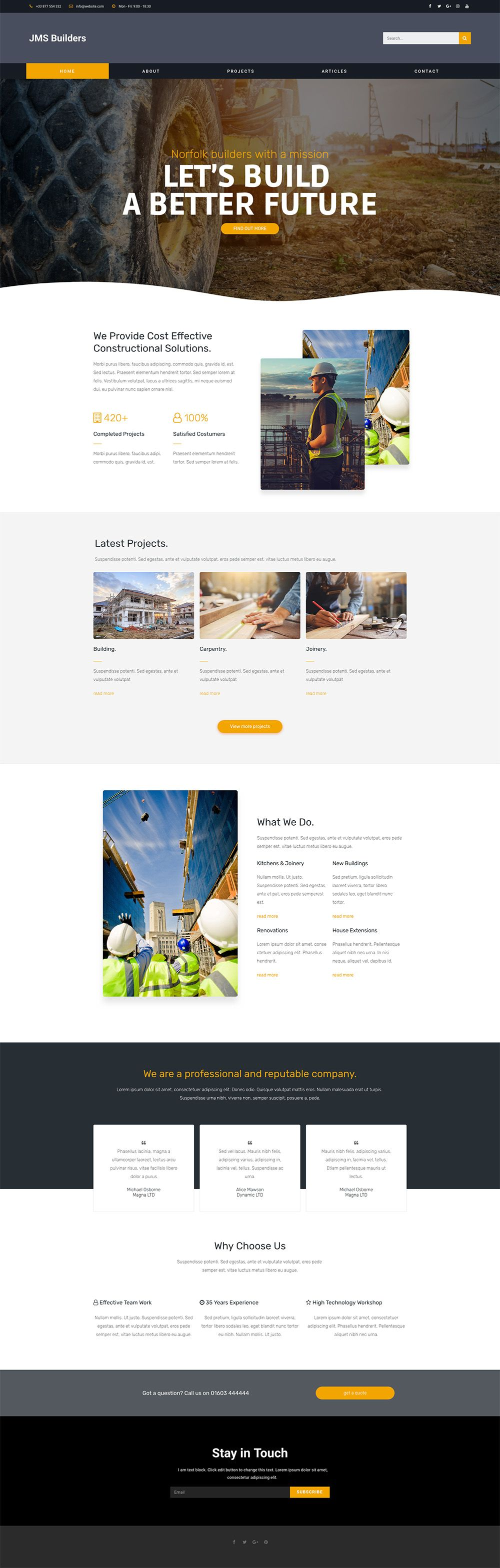 Web And App Design Local Builders Website Template Contact Me If You Want This As Your Builders Website Changed With Your Images And Your T Financas In Touch