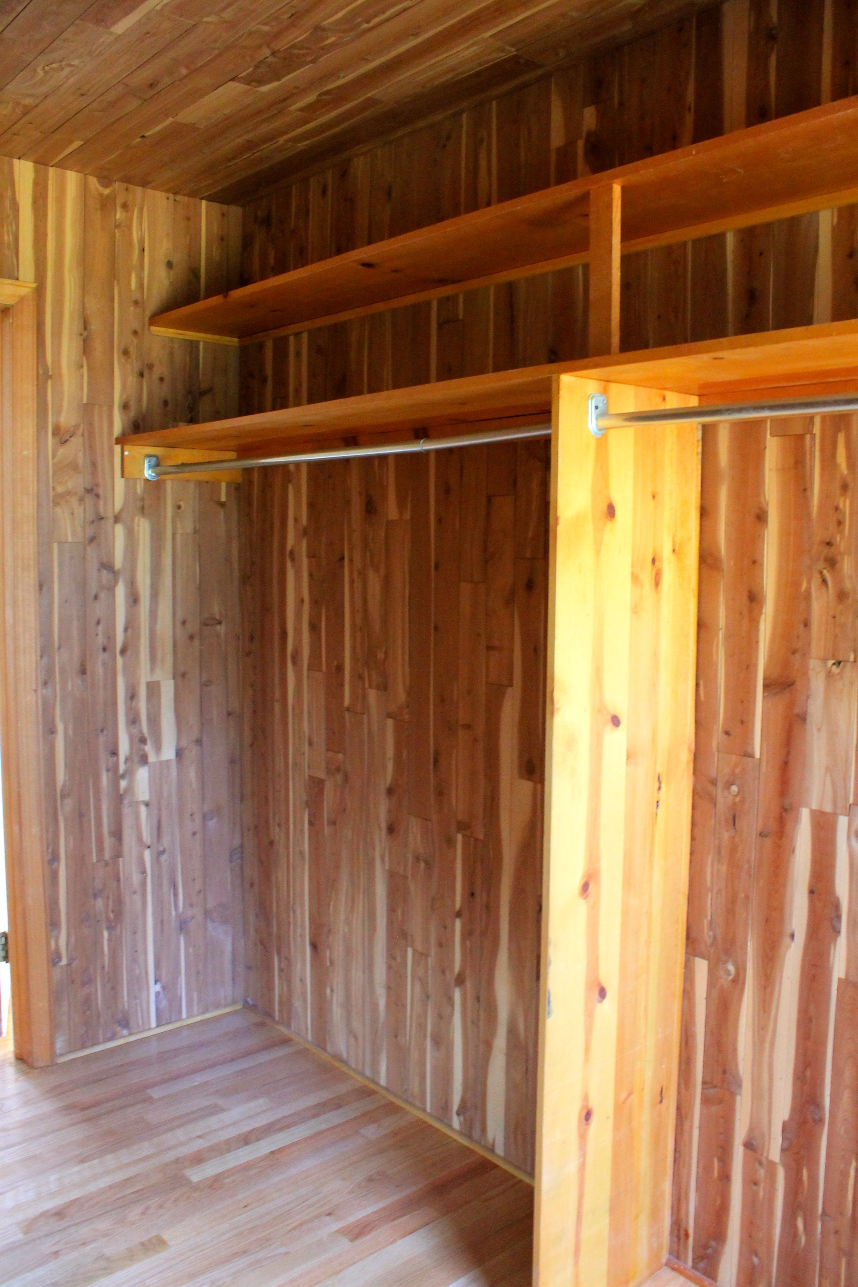 Large Cedar Closet, Very Handy !