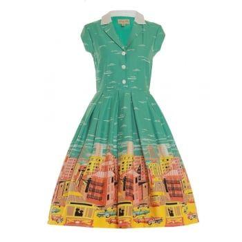 Gilda  San Francisco Print Swing Dress - from Lindy Bop UK.   78ef64602