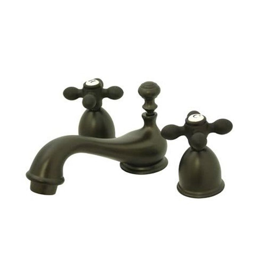 Elements Of Design Chicago Oil-Rubbed Bronze 2-Handle 4-In Mini ...