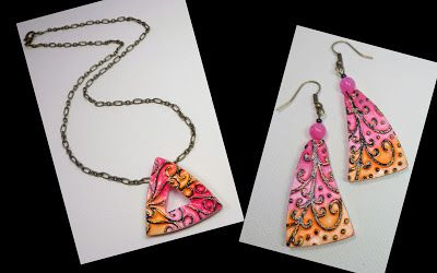 Free Polymer Clay Jewelry Tutorial by artist Sherri Kellberg for Polyform Products....Read my new Blog post! Beadazzle Me Polymer Jewelry