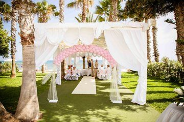 Gorgeous Couple Catherine And Barrys Wedding Day At Louis Phaethon Beach Club Hotel In Paphos Photographs