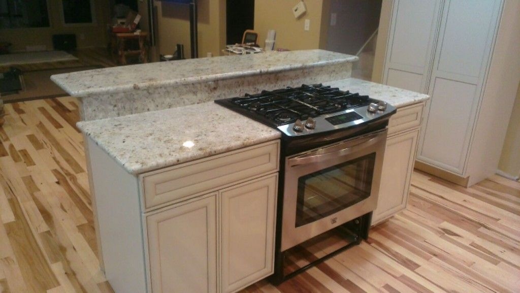 Colonial Gold Or Colonial White Granite Depending On What