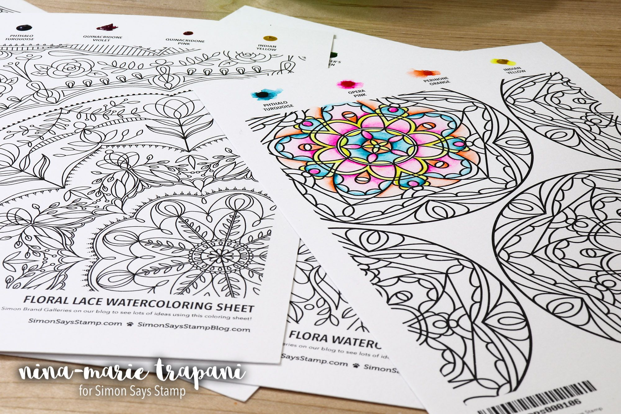 Watercolor Drawing Book Awesome Coloring Book Live Eat Colour Colored Pencil Coloring Book Flower Coloring Pages Colouring Heaven