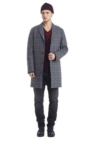 Burt Coat - Grey Check (HOPE-STHLM)