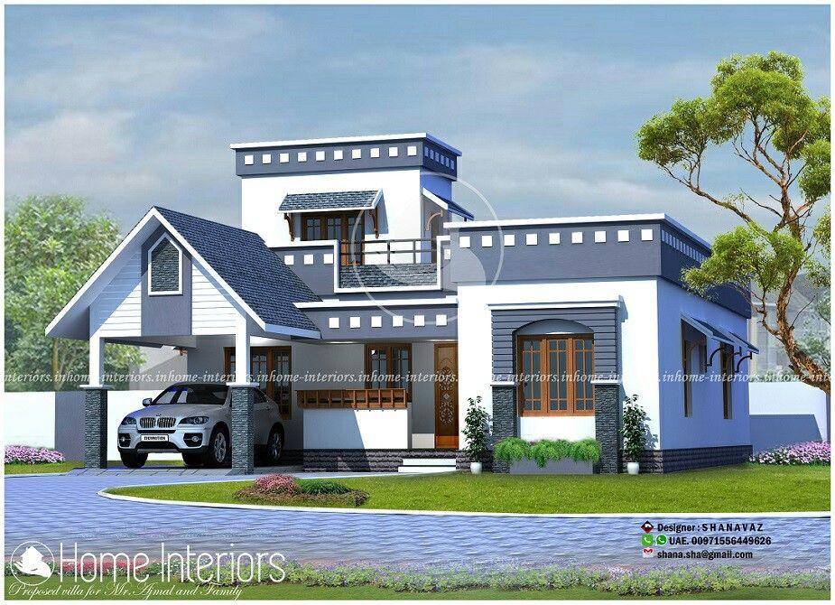 Modern House Design Visit Pin by Sruthi