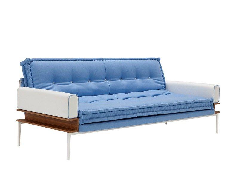 Convertible sofa bed TWENTYFOURSEVEN by Contempo | design Luca Scacchetti