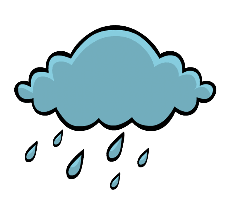 Pin On Rain Cloud Clipart