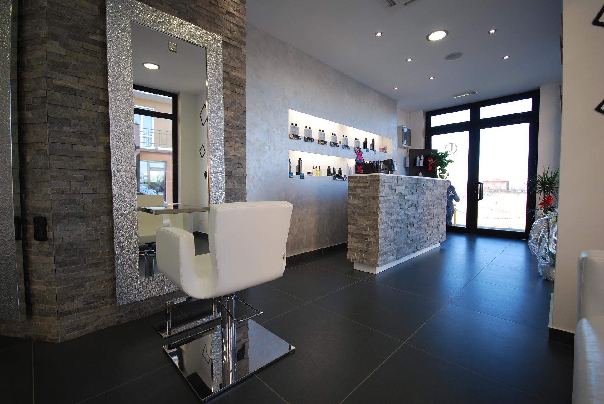 Nelson mobilier hair salon furniture made in france - Nail salon interior design photos ...