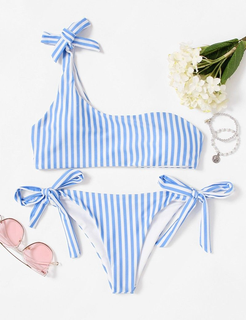 Mujer Lunares Tankini Top Bikinis Con Tri/ángulo Bottom Ba/ñadores De 2 Pieza