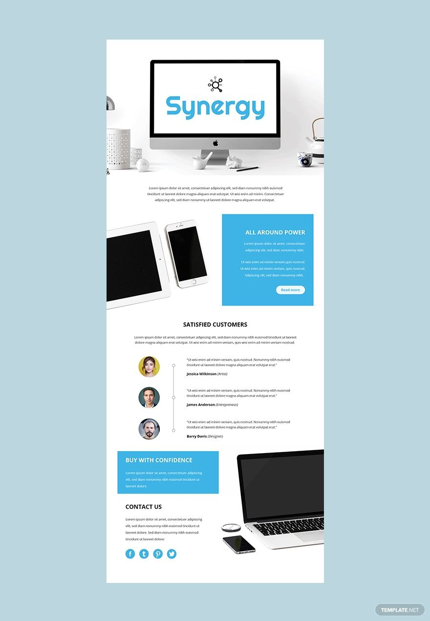 Product Email Newsletter Template Free Outlook Html5 Word Apple Pages Psd Publisher Template Net Email Newsletter Design Email Newsletter Template Email Marketing Design Inspiration