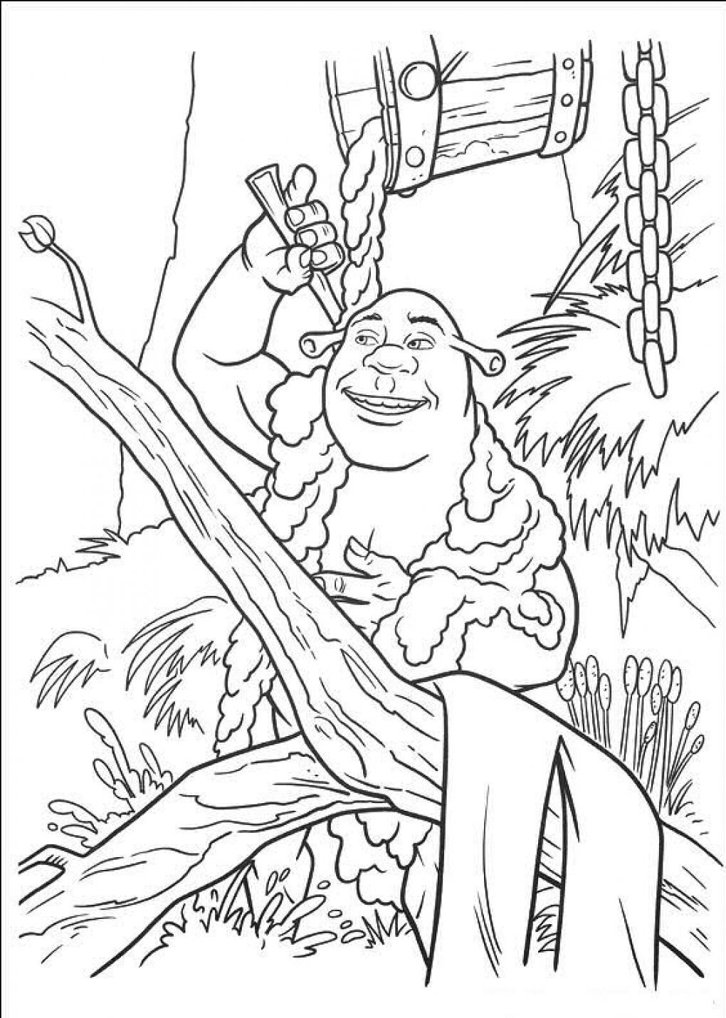 Coloring-Pages-of-Shrek.jpg (1020×1430) | Coloring Pages | Pinterest ...