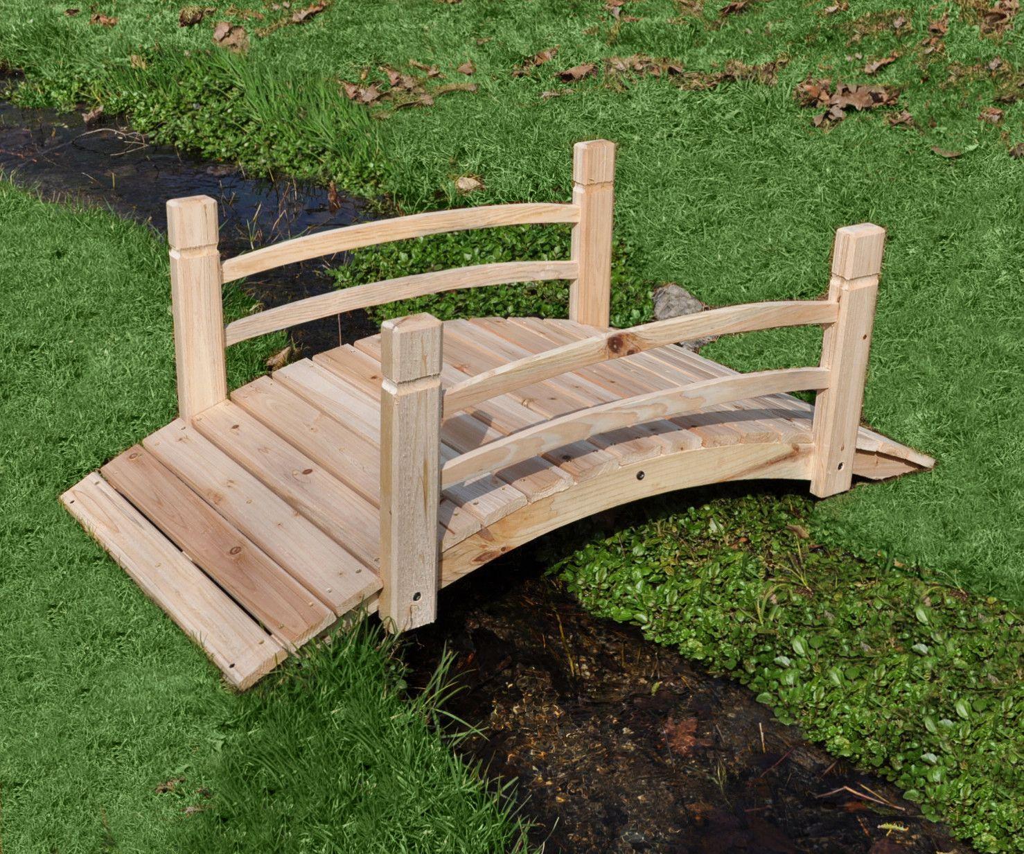 Sandra Garden Bridge | Bahçe fikirleri | Pinterest