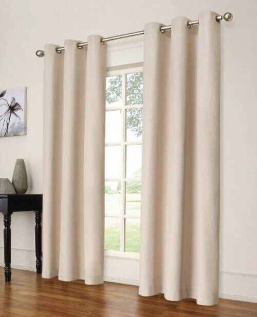Windsor Light Eclipse Blocking Curtain Panel 42 X 63 Cream 1