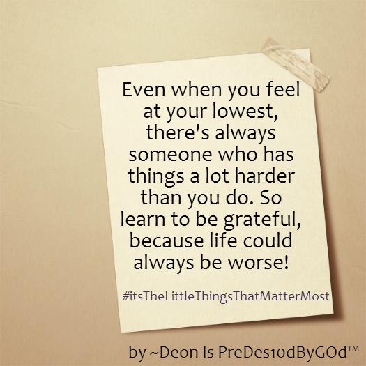 #AlwaysBeGrateful
