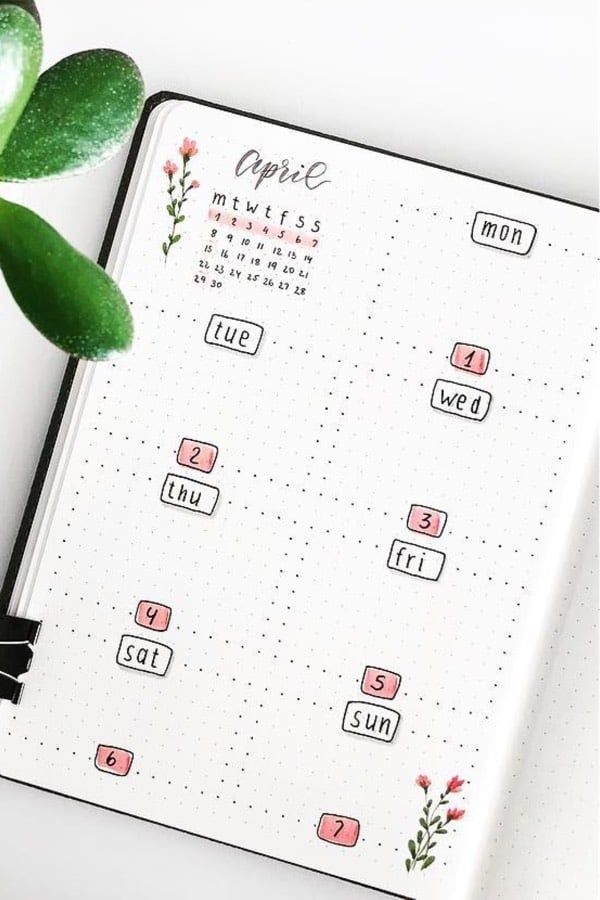 25+ Best Pink Themed Bullet Journal Spread Ideas For 2020 - Crazy Laura #bulletjournaling If you're changing up your theme for the month, you need to ...
