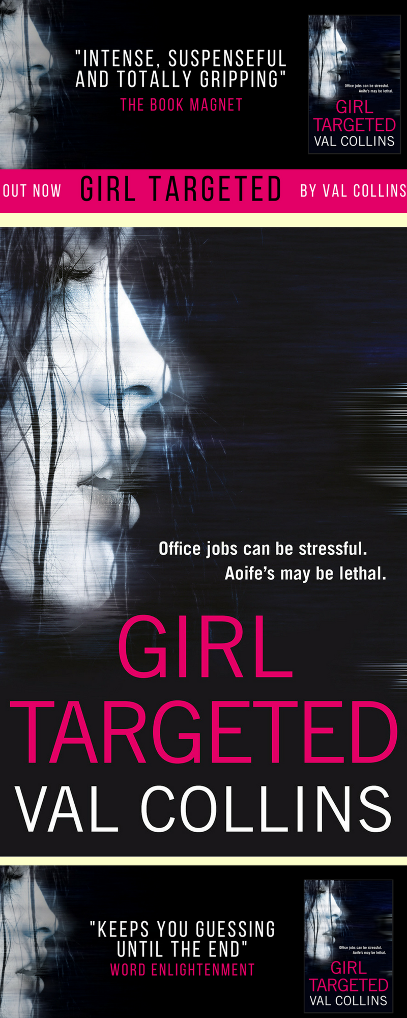 Book reviews for for Girl Targeted, a mystery suspense thriller set in  Ireland. Aoife's