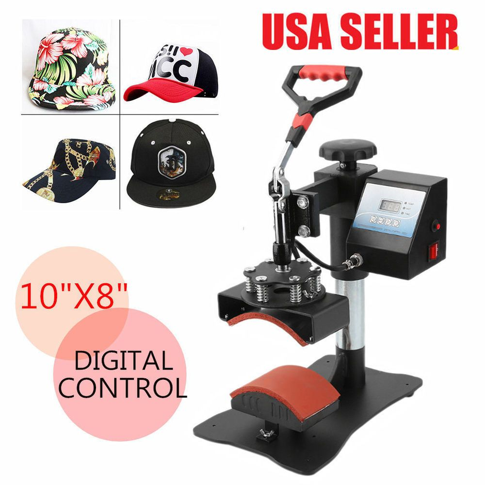 how to use heat press machine 8 in 1