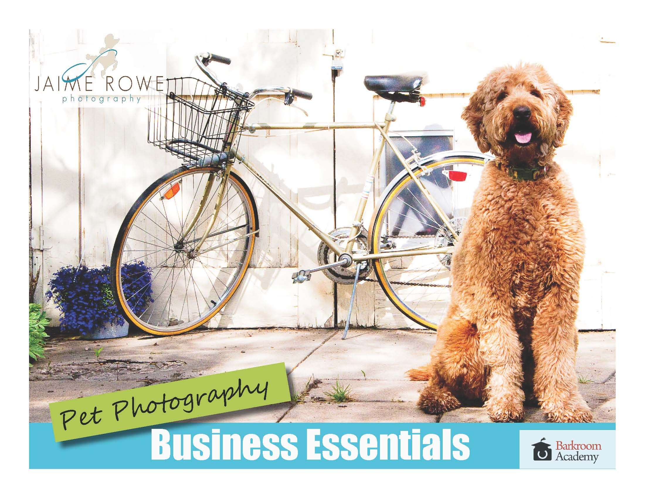 Pet Photography Business Essentials by Jaime Rowe!!!