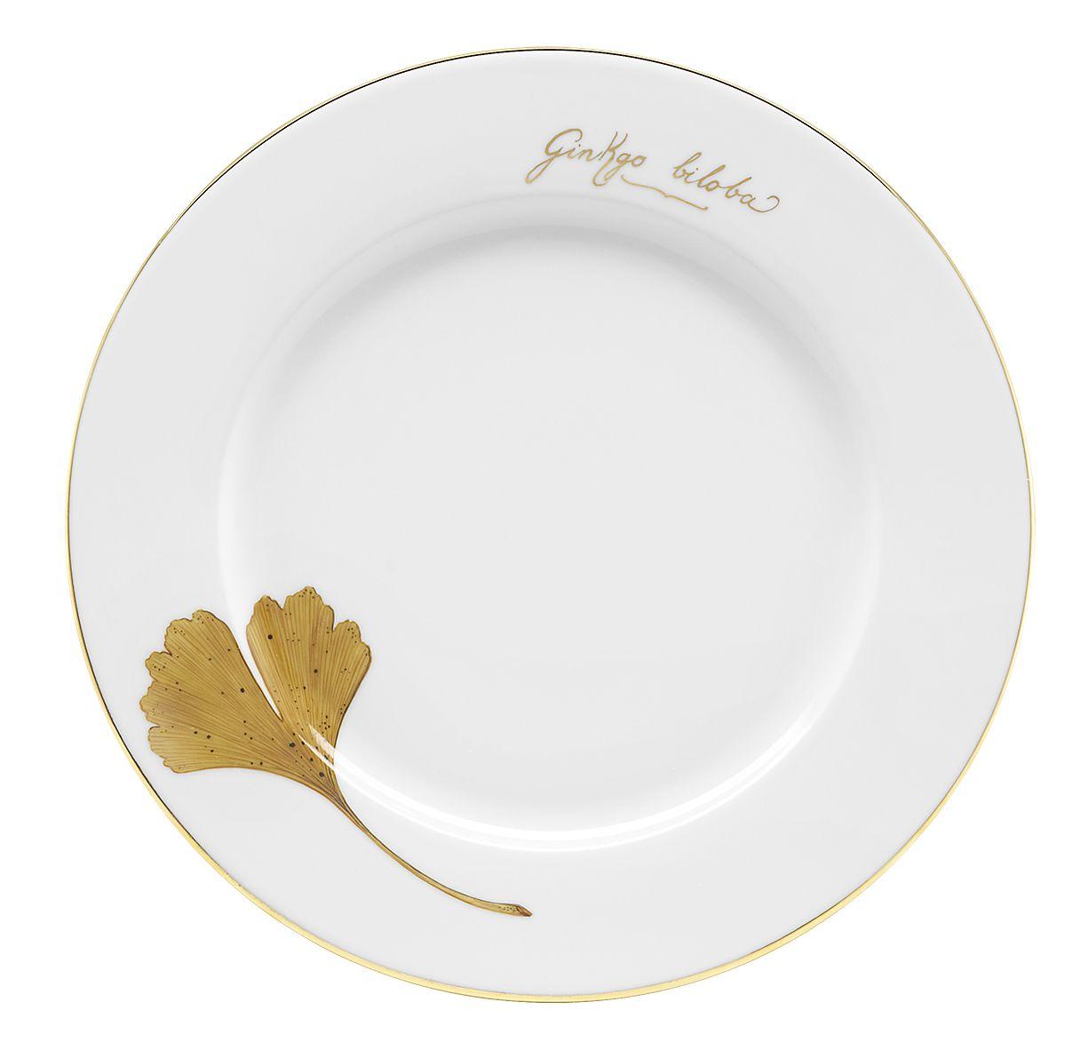 Sven Markus Von Hacht Golde Ginkgo Gingko Ginkgo Tableware