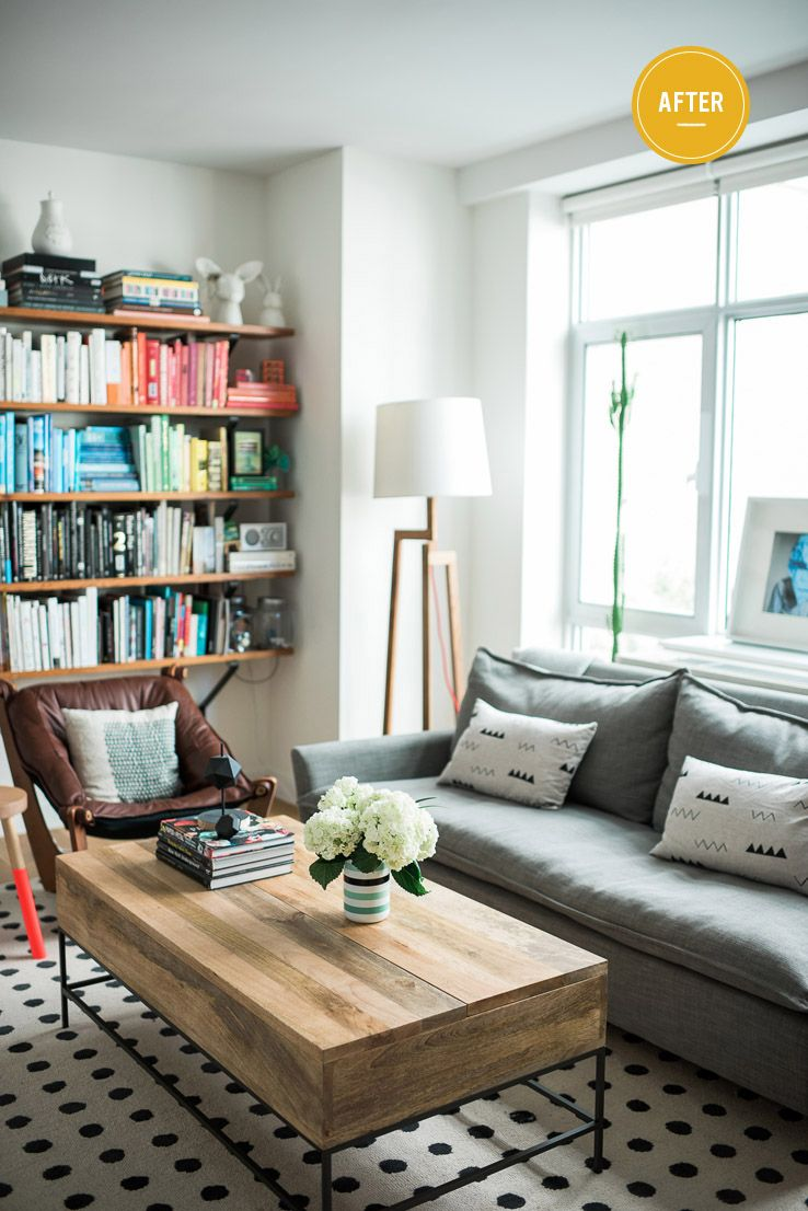 Brooklyn Bride\'s Vané Broussard gives her living room an easy ...