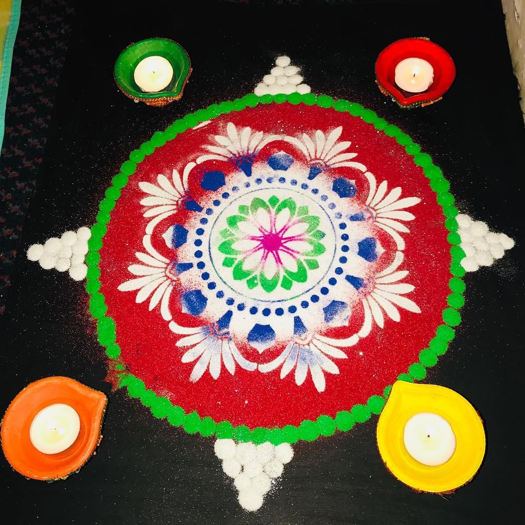 Beautiful Rangoli Designs For Diwali 2018 K4 Craft Rangoli