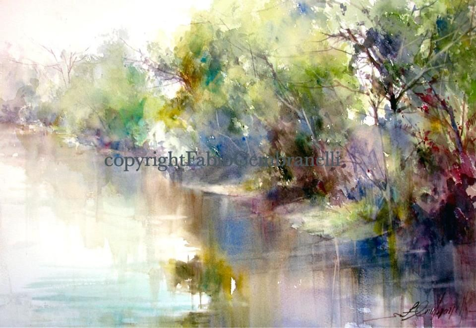 Fabio Cembranelli Watercolor Workshops In Toronto Canada