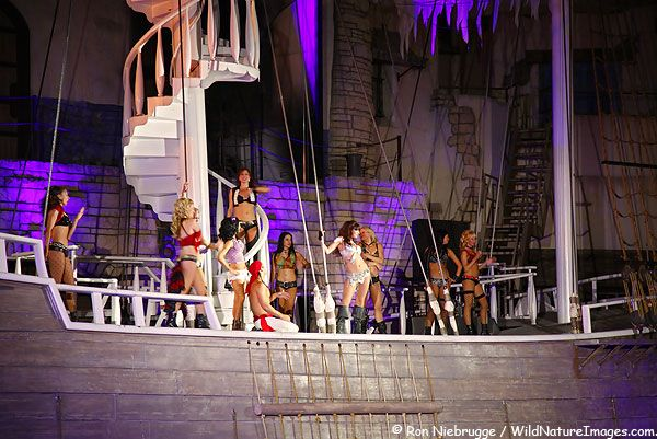 The Pirate Show At Treasure Island Hotel And Casino On The