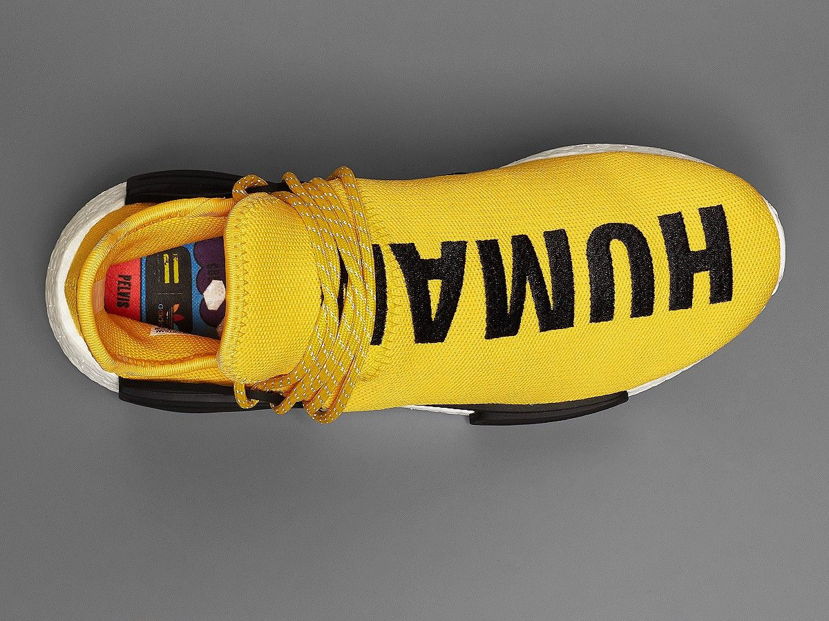 1324ff160 Pharrell Williams adidas NMD Human Race Yellow